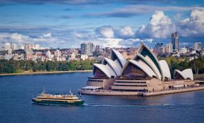 Australien Sydney Opera House and Ferry
