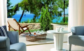 Sani Beach Club Private Garden